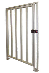 WHD-15 Full Height Security Gate